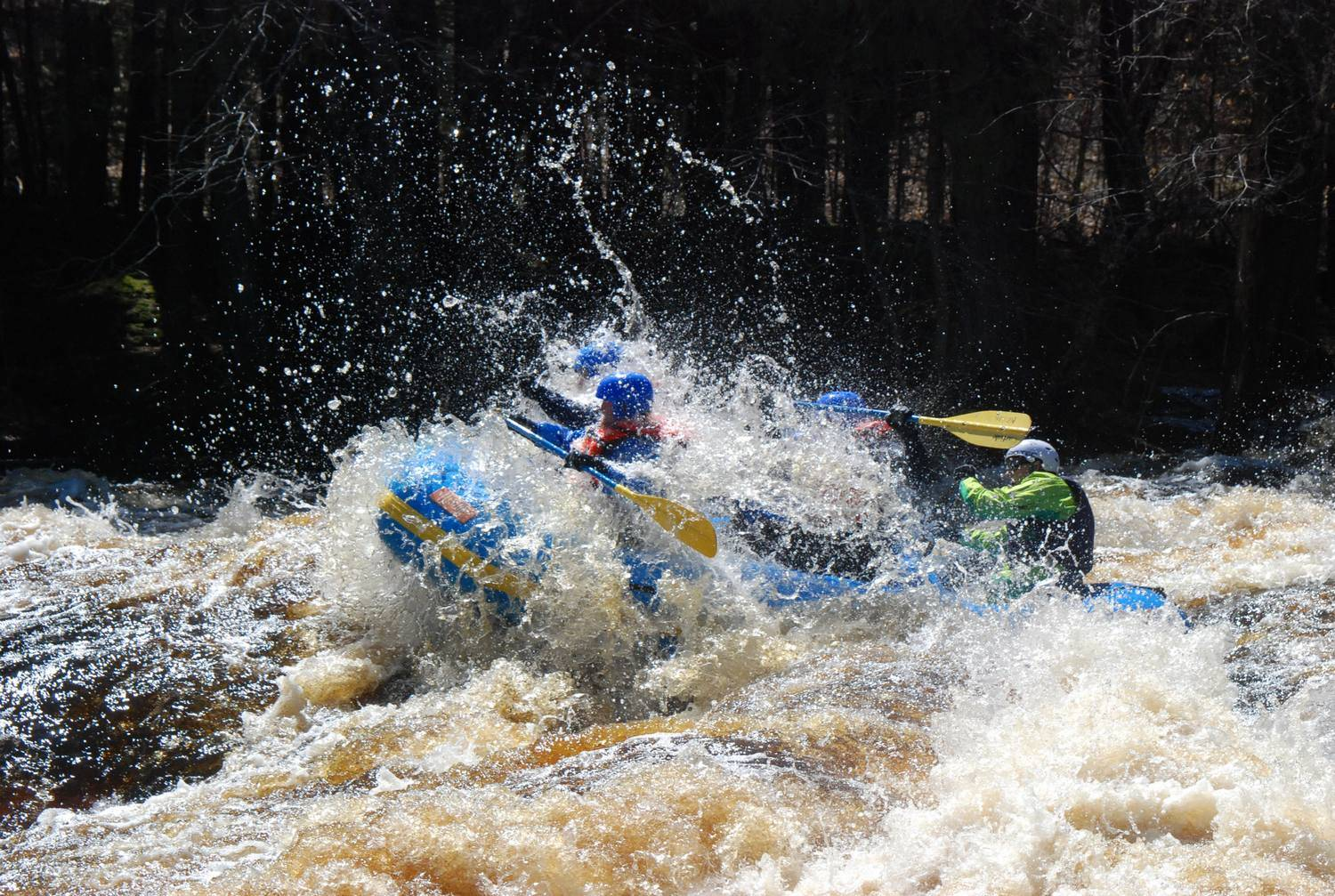 Raft the high water this weekend!