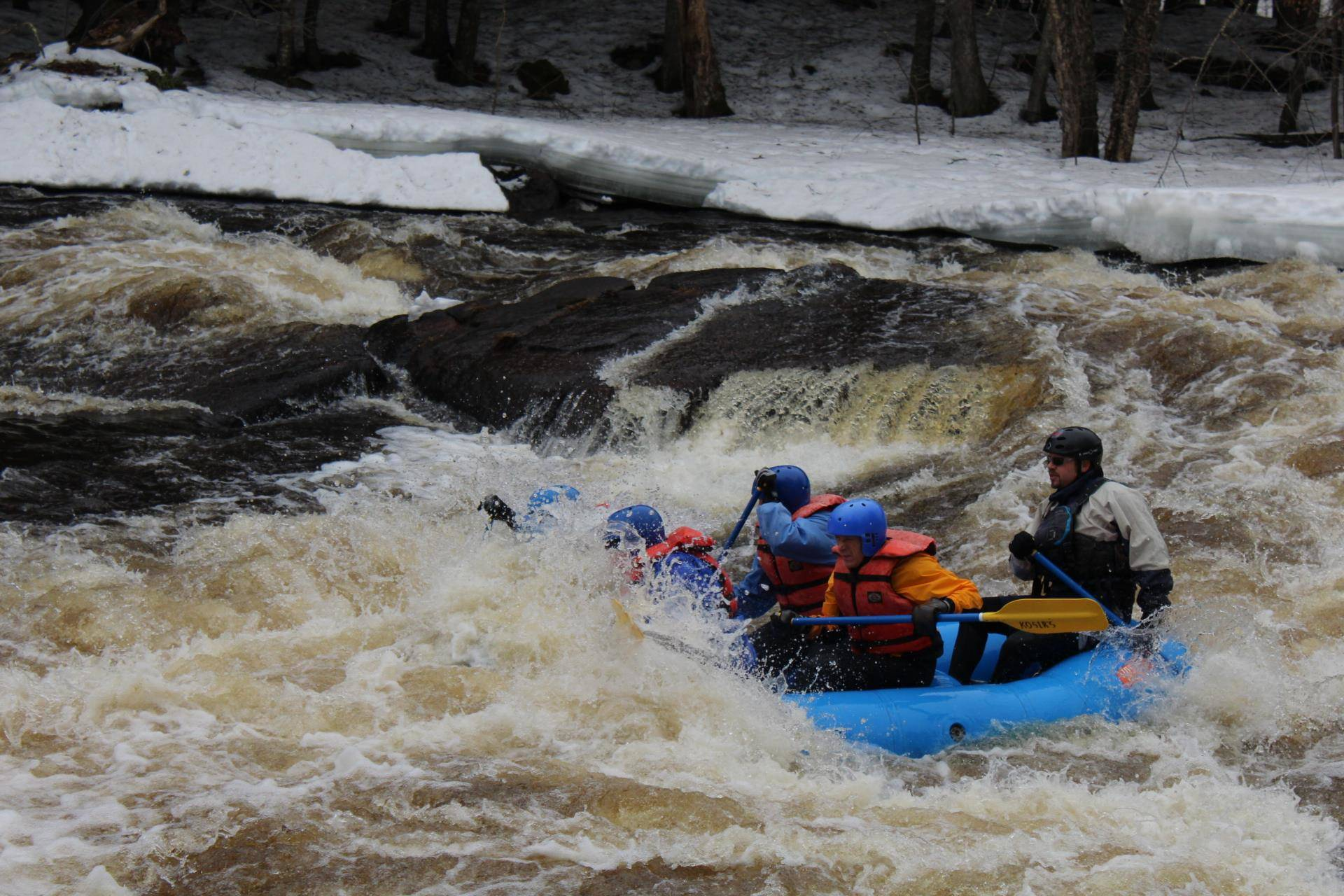 Wisconsin Whitewater Rafting - Kosir's Rapid Rafts & Campground